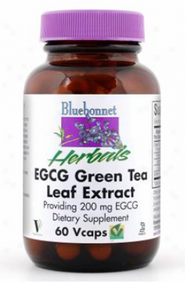 Bluebonnet's Egcg Green Tea Leaf 60vcaps