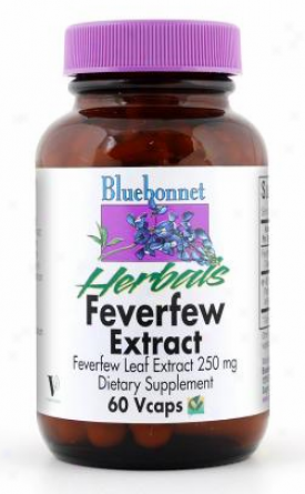 Bluebobnet's Feverfew Extract  60vcaps