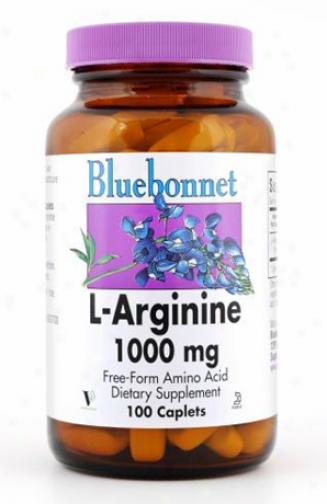 Bluebonnet's L-argginine 1000m g100vcaps