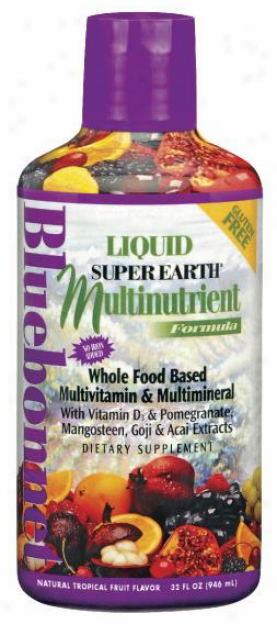 Bluebonnet's Liquid Super Earth Multinutrient Frmla 32oz