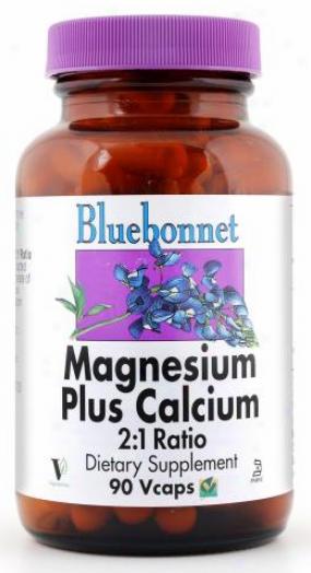 Bluebonnet's Magnesium Calcium 2:1 90vcaps