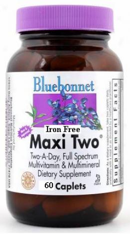 Bluebonnet's Maxi Two  Iron Free  60caps