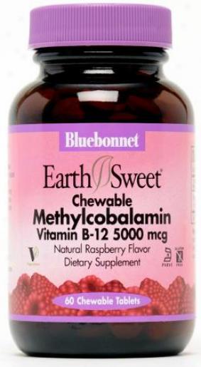 Bluebonnet's Methylcobalamin Vit B-12 5000mcg 60sg