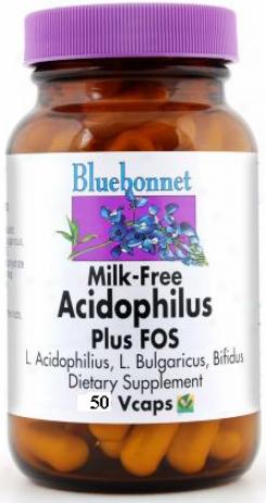 Bluebonnet's Milk  Free Acidophylus Plus Fos  50caps