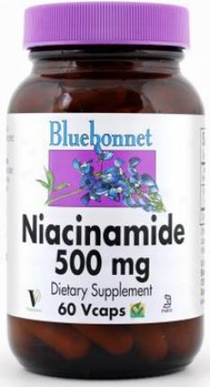 Bluebonnet's Niacinamide Vita. B-3 60caps