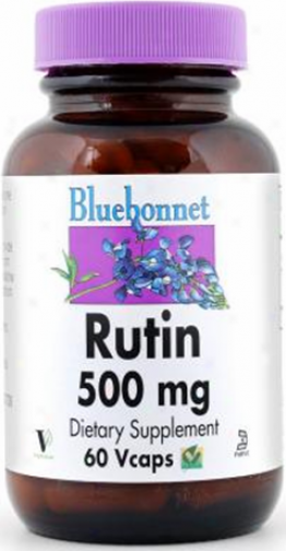 Bluebonnet's Rutin 500 Mg 60caps