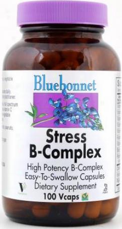 Bluebonnet's Stress B-complex 100vcaps