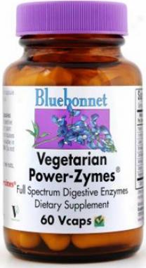 Bluebonnet's Vegetarian Power-zymes 60caps