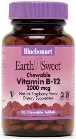 Bluebonnet's Vitamin B-12 2000 Mcg 90tabs