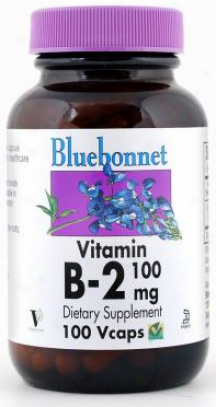 Bluebonnet's Vitamin B-2 100 Mg 100caps