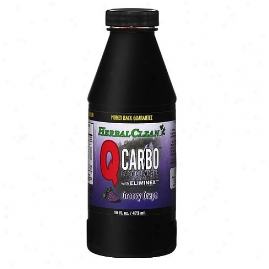 Bng's Herbal Clean Easy Cleanser Qcarbo Grape 16 Fl Oz