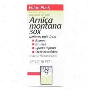 Boericke Tafel's Arnica Montana 30x 250tabs