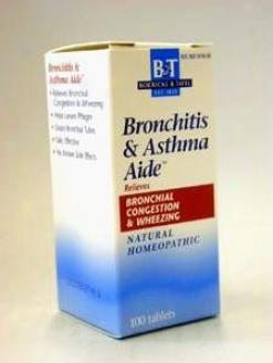 Boericke & Tafel's  Bronchitis & Asthma Aide 100 Tabs