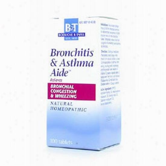 Boericke Tafel's Bronchitis & Asthma Aide 100tabs