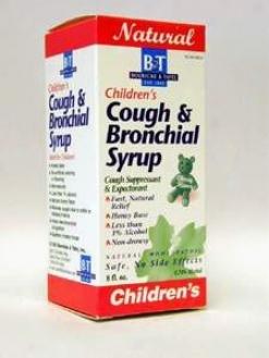 Boericke & Tafel's  Children's Cough & Bronchial Syrup 8 Oz