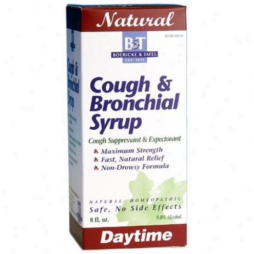 Boericke Tafel's Cough & Bronchial Syrup 8 Fl Oz