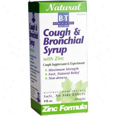 Boericke Tafel's Cough & Bronchial Syrup W/ Zinc 8 Fl Oz