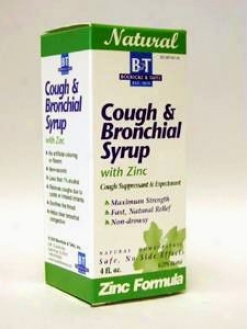 Boericke & Tafel's  Cough & Bronchial Syrup W/ Zinc 8 Oz