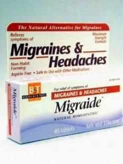 Boericke & Tafel's  Migraide 40 Tabs