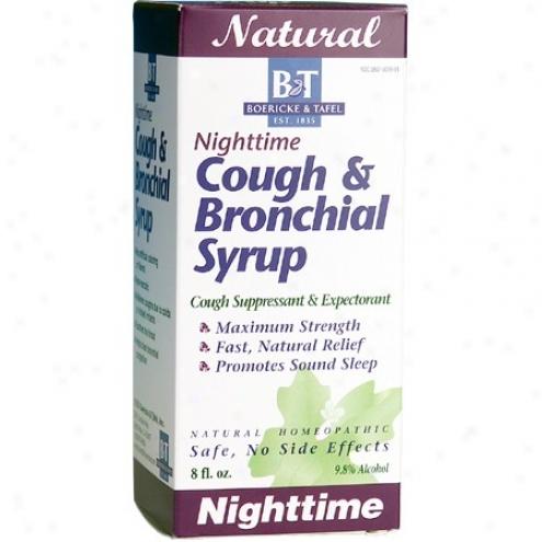 Boerick3 Tafel's Nighttime Cough & Bronchial Syrup 8 Fl Oz