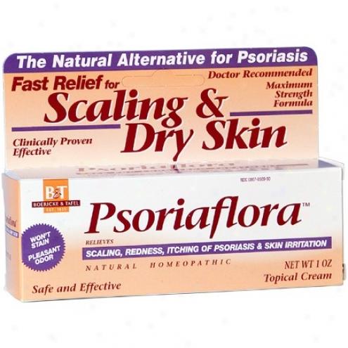 Boericke Tafel's Psoriaflora Cream 1oz