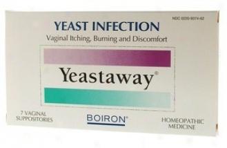 Boiron Medicines Yeastaway 7 Suppositories