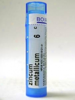 Boiron's - Zincum Metallicum 6c 80 Plts