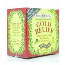 Breezy Morning Tea's Cold Relief Tea 20bags