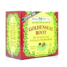 Breezy Morning Tea's Goldenseal Root Tea 16bags