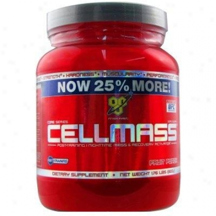 Bsn'a Celllmass Now 25% More Fruit Punch 1.76lb