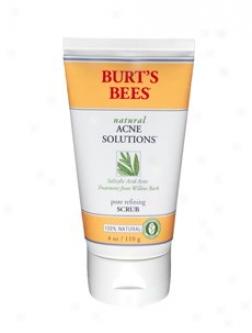 Burt's Bees Acne Solutions Pore Refniing Scrub 4oz