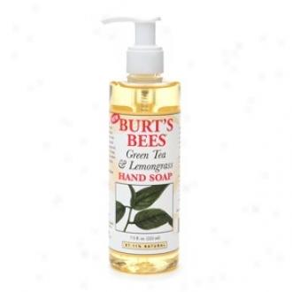 Burt's Bees Hand Soap Green Tea And Lemongrass 7.5 Fl Oz