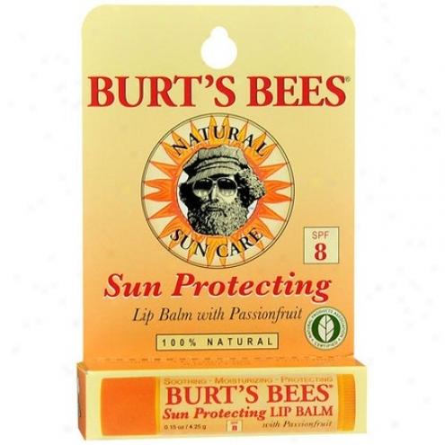 Burt's Bees Lip Balm Passionfruit With Spf-8 0.15oz