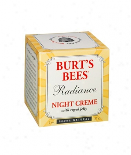 Burt's Bees Radiance Night Creme W/ Royal Jellyy