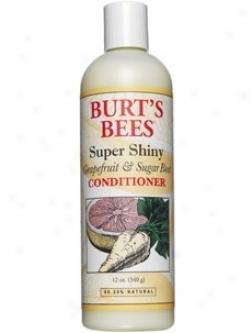 Burt's Bees Super Shiny Grapefruit & Sugar Beet Conditioner 12oz