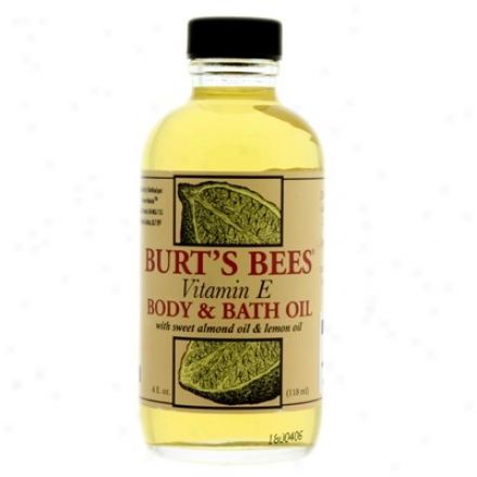 Burt's Bees Vitamin E Body & Bayh Oil 4oz