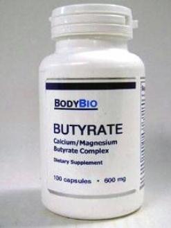 Butyrate 600 Mg 100 Caps