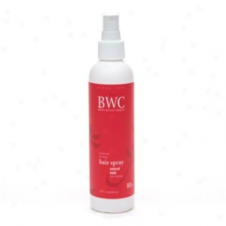 Bwc's Hair Spray Natural Hold 8.5 Fl Oz