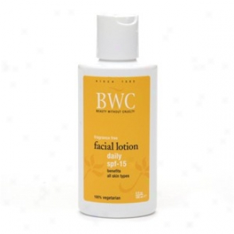 Bwc's Lotion Daily Facial Spf-15 4 Fl Oz