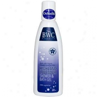 Bwc's Shower & Bath Highland Lavender Gel 7 Fl Oz