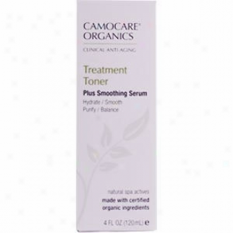 Camocarr Organic's Treatment Toner 4oz