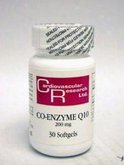 Carrdiovascular's Coenzyme Q10 200mg 30sgels