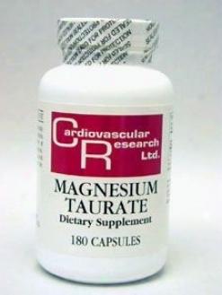 Cardiovacular's Magnesium Taurate 125mg 180caps
