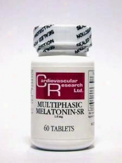 Cardiovascular's Multiphasic Melatonin-sr 1.8mg 60tabs