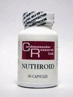 Cardiovascular's Nuthroid 60caps