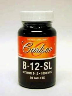 Carlson Lab's B-12-sl 1000 Mcg 90 Tabs