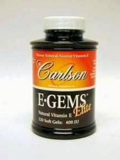Carlson Lab's E-geme Elite 400 Iu 120 Gels