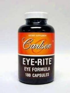 Carlson Lab's Eye-rite 180 Caps