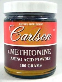 Carlson Lab's L-methionine Powder 1500 Mg 100 Gms