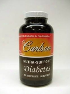 Carlson Lab's Nutra?supportã¿â¿â¾ Diabetes 180sgels